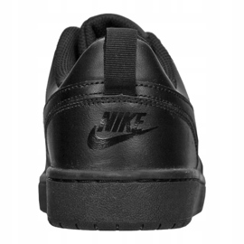 Buty Nike Jr Court Borough Low 2 (GS) Jr BQ5448-001 czarne 3