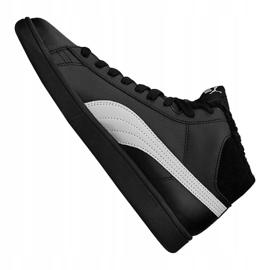 Buty Puma Smash V2 Mid L Fur Jr 366895-05 czarne 1