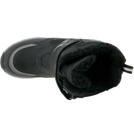 Buty zimowe Kappa Great Tex Jr 260558K-1115 czarne 2