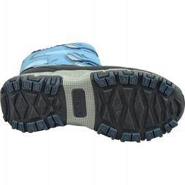 Buty zimowe Kappa Great Tex Jr 260558K-6467 niebieskie 3