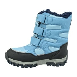 Buty zimowe Kappa Great Tex Jr 260558T-6467 niebieskie 1