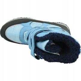 Buty zimowe Kappa Great Tex Jr 260558T-6467 niebieskie 2