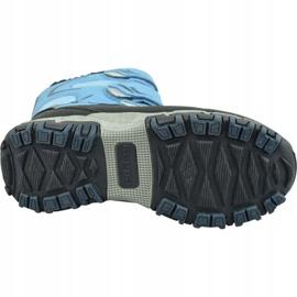 Buty zimowe Kappa Great Tex Jr 260558T-6467 niebieskie 3