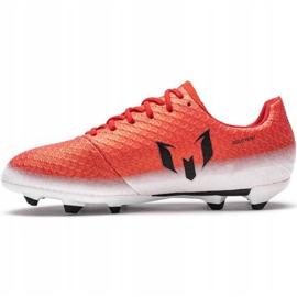 Buty piłkarskie adidas Messi 16.1 Fg Jr BA9142 czerwone wielokolorowe 2