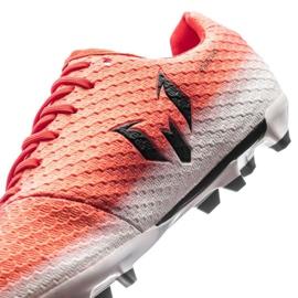 Buty piłkarskie adidas Messi 16.1 Fg Jr BA9142 czerwone wielokolorowe 3