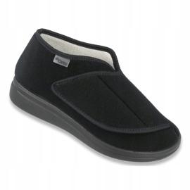 Befado obuwie damskie 071D001 czarne 1