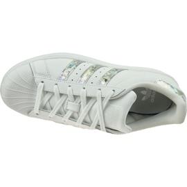 Buty adidas Originals Superstar Jr F33889 białe 2
