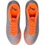Buty piłkarskie M Puma One 4 Syn It 104750 01 srebrny pomarańczowy, szary/srebrny 1