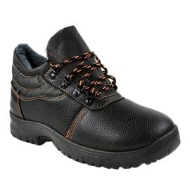 Czarne obuwie trekkingowe 7M900 1