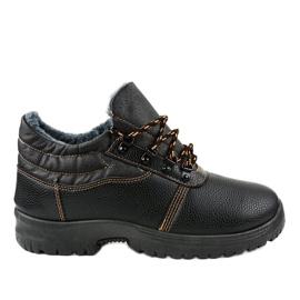 Czarne obuwie trekkingowe 7M900 2