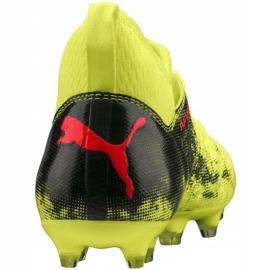 Buty piłkarskie Puma Future 18.3 Fg Ag Jr 104332 01 zielone wielokolorowe 6
