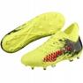 Buty piłkarskie Puma Future 18.3 Fg Ag Jr 104332 01 zielone czarny, czerwony, zielony 9