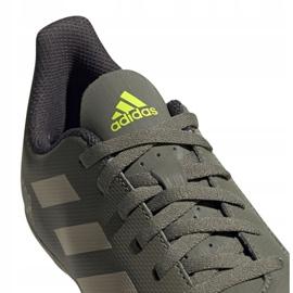 Buty piłkarskie adidas Predator 19.4 FxG Jr EF8221 wielokolorowe szare 3