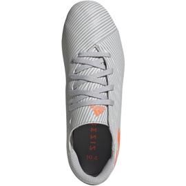 Buty piłkarskie adidas Nemeziz 19.4 FxG Jr EF8305 wielokolorowe szare 1