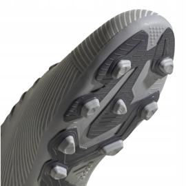 Buty piłkarskie adidas Nemeziz 19.4 FxG Jr EF8305 wielokolorowe szare 5
