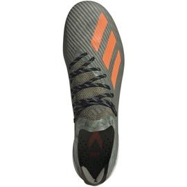 Buty piłkarskie adidas X 19.1 M Fg EF8296 zielone zielone 1