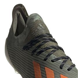 Buty piłkarskie adidas X 19.1 M Fg EF8296 zielone zielone 3