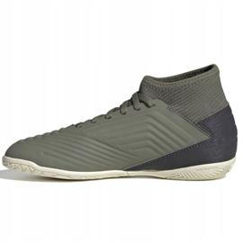 Buty piłkarskie adidas Predator 19.3 In Jr EF8219 szare 2