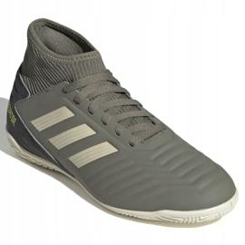 Buty piłkarskie adidas Predator 19.3 In Jr EF8219 szare 3