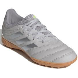 Buty piłkarskie adidas Copa 20.3 Tf Jr EF8343 szare szare 3