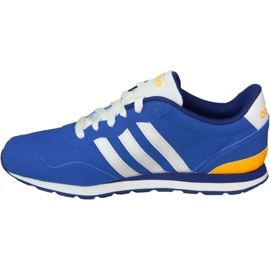 Buty adidas V Jog Kids AW4835 niebieskie 1