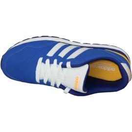Buty adidas V Jog Kids AW4835 niebieskie 2