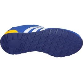 Buty adidas V Jog Kids AW4835 niebieskie 3
