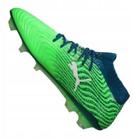 Buty piłkarskie Puma One 18.1 Fg M 104869-03 zielone zielone 2