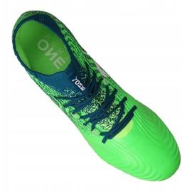 Buty piłkarskie Puma One 18.1 Fg M 104869-03 zielone zielone 4