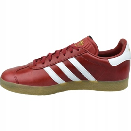 Buty adidas Gazelle W BZ0025 czerwone 1