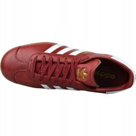 Buty adidas Gazelle W BZ0025 czerwone 2