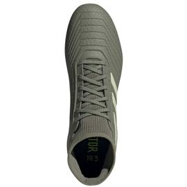 Buty piłkarskie adidas Predator 19.3 Sg M EG2830 szare szare 1