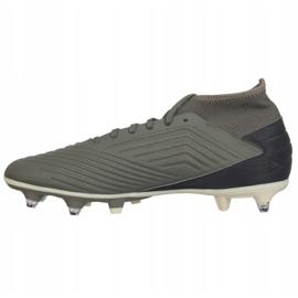 Buty piłkarskie adidas Predator 19.3 Sg M EG2830 szare szare 2