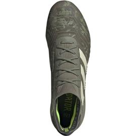 Buty piłkarskie adidas Predator 19.1 Fg M EF8205 szare szare 1