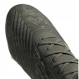 Buty piłkarskie adidas Predator 19.1 Fg M EF8205 szare szare 3