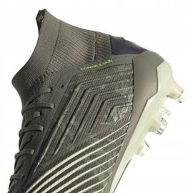 Buty piłkarskie adidas Predator 19.1 Fg M EF8205 szare szare 4