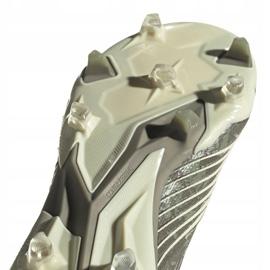 Buty piłkarskie adidas Predator 19.1 Fg M EF8205 szare szare 5
