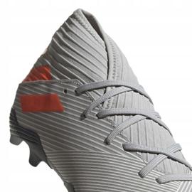 Buty piłkarskie adidas Nemeziz 19.3 Fg M EF8287 szare szare 3