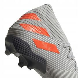 Buty piłkarskie adidas Nemeziz 19.3 Fg M EF8287 szare szare 4
