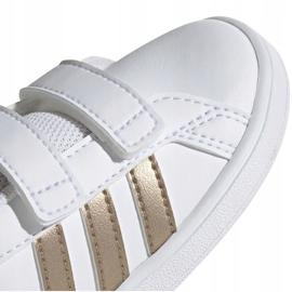 Buty adidas Grand Court I Jr EF0116 białe 3