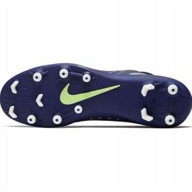 Buty piłkarskie Nike Mercurial Superfly 7 Club Mds FG/MG Jr BQ5418 401 niebieskie granatowe 6