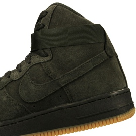 Buty Nike Air Force 1 High Lv 8 Gs Jr 807617-300 zielone 3
