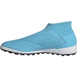Buty piłkarskie adidas Predator 19.3 Ll Tf M EF0389 wielokolorowe niebieskie 1