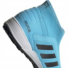 Buty piłkarskie adidas Predator 19.3 Ll Tf M EF0389 wielokolorowe niebieskie 4