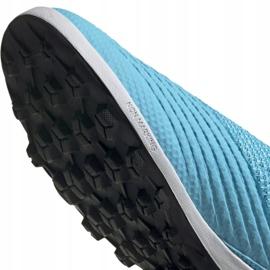 Buty piłkarskie adidas Predator 19.3 Ll Tf M EF0389 wielokolorowe niebieskie 5