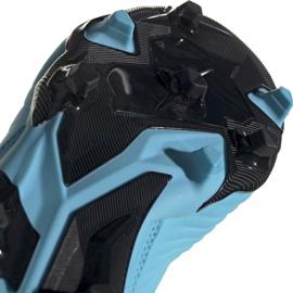 Buty piłkarskie adidas Predator 19.3 Fg Jr G25796 wielokolorowe niebieskie 4