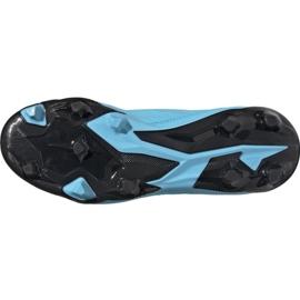 Buty piłkarskie adidas Predator 19.3 Fg Jr G25796 wielokolorowe niebieskie 5