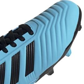 Buty piłkarskie adidas Predator 19.3 Fg Jr G25796 wielokolorowe niebieskie 6