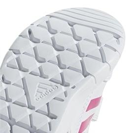 Buty adidas Altasport Cf I Jr D96846 białe fioletowe 5