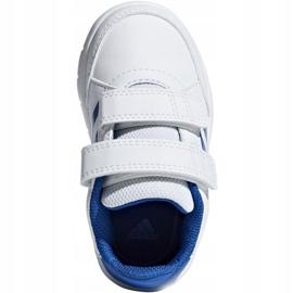 Buty adidas AltaSport Cf I Jr D96844 białe niebieskie 1